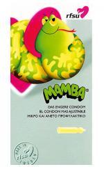 """Das kleine Kondom """"Mamba"""" von RFSU"""